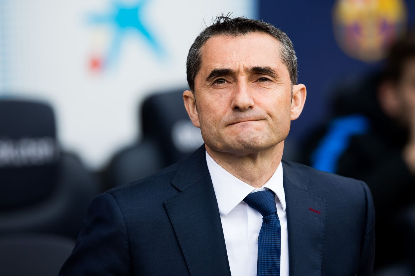 Valverde talk about game lyon barcelone in 16