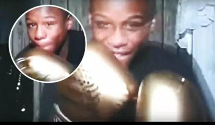 Mayweather Showed incredible hand speed At A Young Age