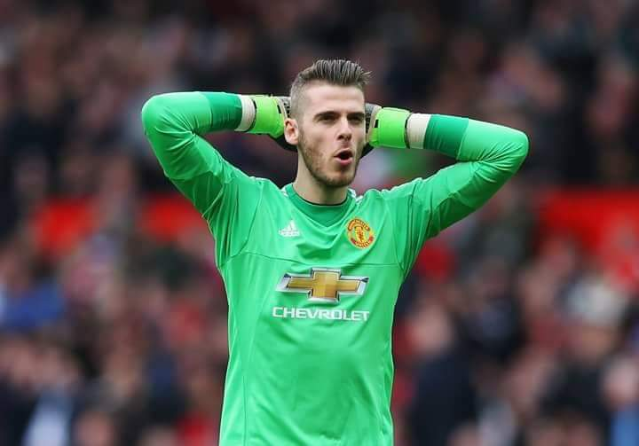Paris Saint-Germain want David De Gea for replace buffon