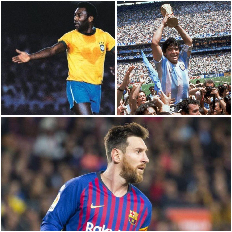 افضل عشرة لاعبين في تاريخ كرة القدم