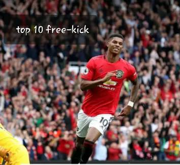 Top 10 free-kicks for manchester united