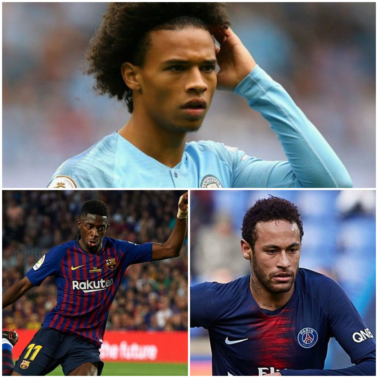 Barcelone want Manchester City to sign their £94m forward to make room for Neymar