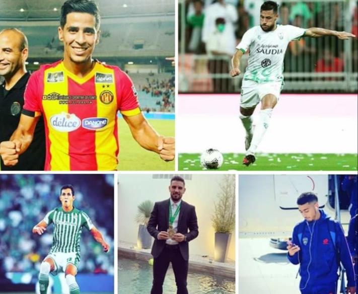 كل ما قدمه اللاعبين المحترفين الجزائريين
