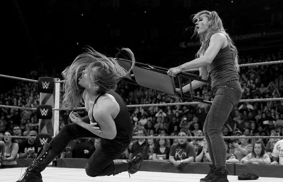 Becky Lynch takes a shot at Charlotte Flair and Ronda Rousey for their WWE journeys