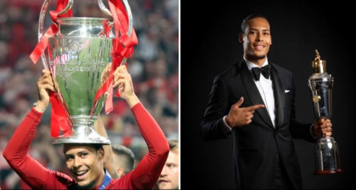 Virgil Van Dijk Says Time Has Come For Defender To Win Ballon d'Or