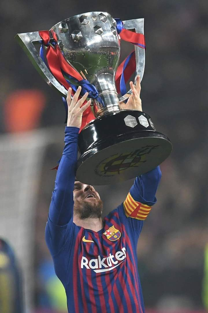 Officiel barcelone club is Spain's champion  2019