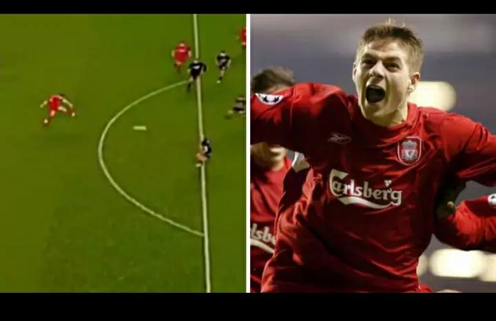 On This Day In 2004  Gerrard Scores Sensational Late Goal against Olympiakos