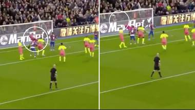 goalkeeper  city Produces Save Of The Season Contender Against Crystal Palace