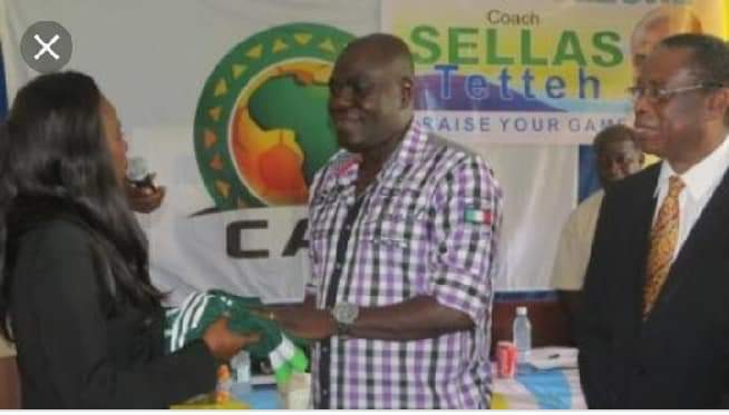 Sellas Tetteh has been confirmed as Sierra Leone's new Coach
