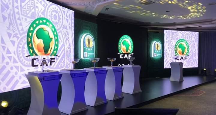 CAF champions league  2019/2020 Full Draw