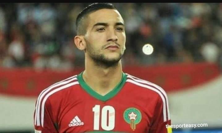 حكيم زياش يقترب من توقيع في الدوري الاسباني مقابل 30  مليون يورو