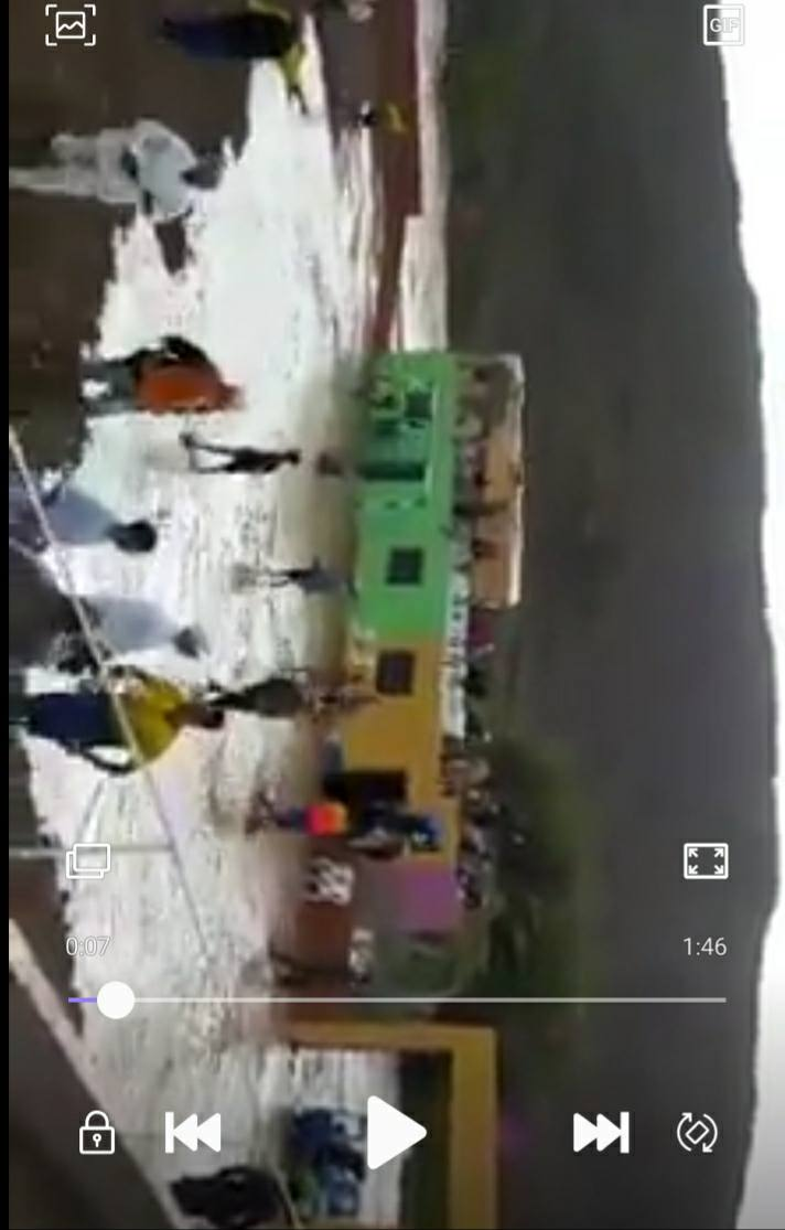 فيديو للحظات قبل حدوث فاجعة ملعب تيزيرت