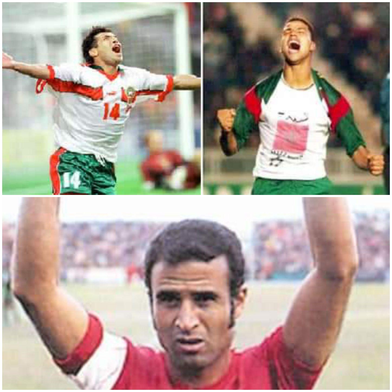 Buteur de l'équipe nationale marocaine à travers l'histoire