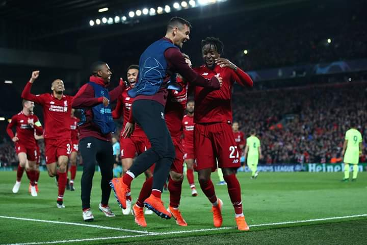 Liverpool winner barca 4-0 To Reach The Champions League Final
