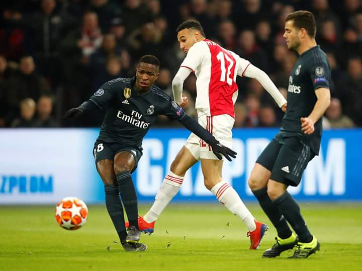 R.madrid Karim Benzema adored and like playing with Vinicius Jr