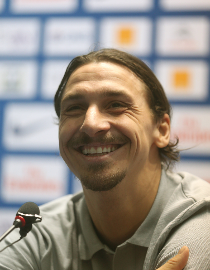 Zlatan Cristiano talks about new challenges.