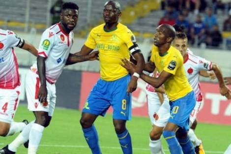 الوداد يفوز على صاندوز الجنوب افريقي بصعوبة