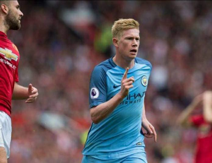 Kevin De Bruyne's 50th assist makes him the quickest player to reach the milestone in premier league history