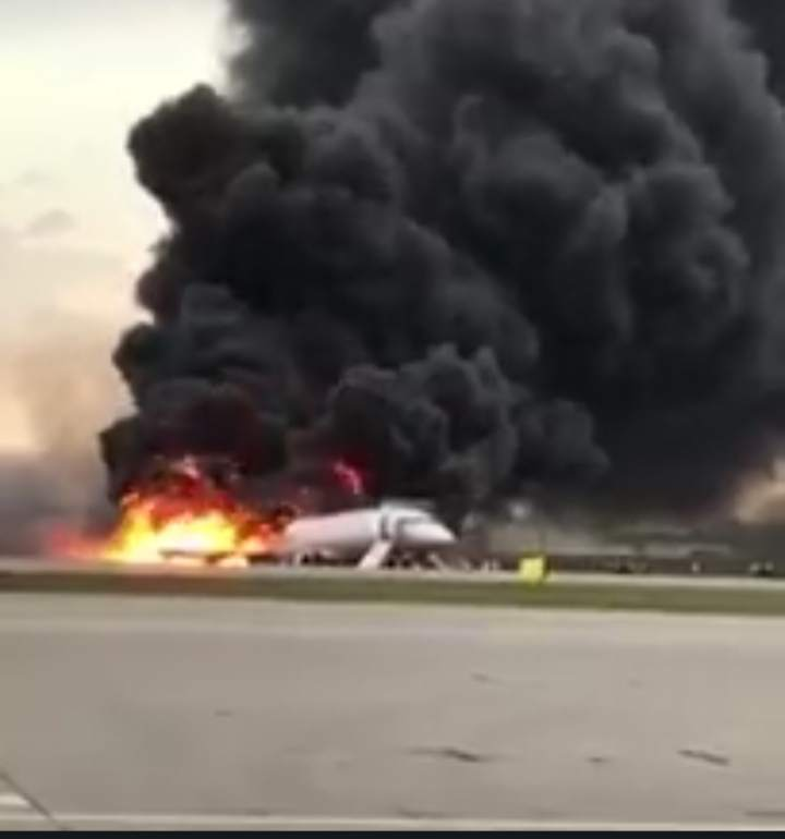 More than 48 killed in airport russia