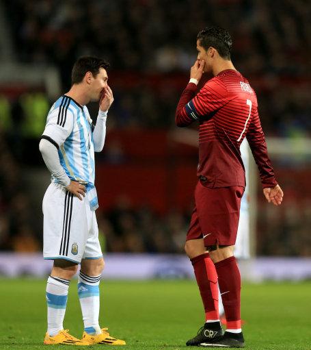 أسطورة ريال مدريد جوتي ليونيل ميسي لديه موهبة أكثر من كريستيانو رونالدو