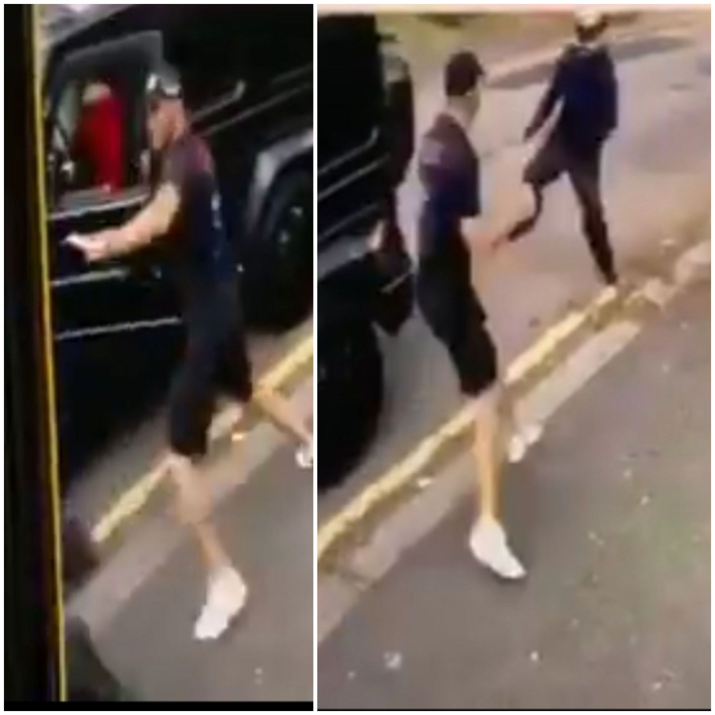 Footage Emerges Of  Kolasinac Fending Off Armed Thieves Who Tried To Hijack  Ozil Car