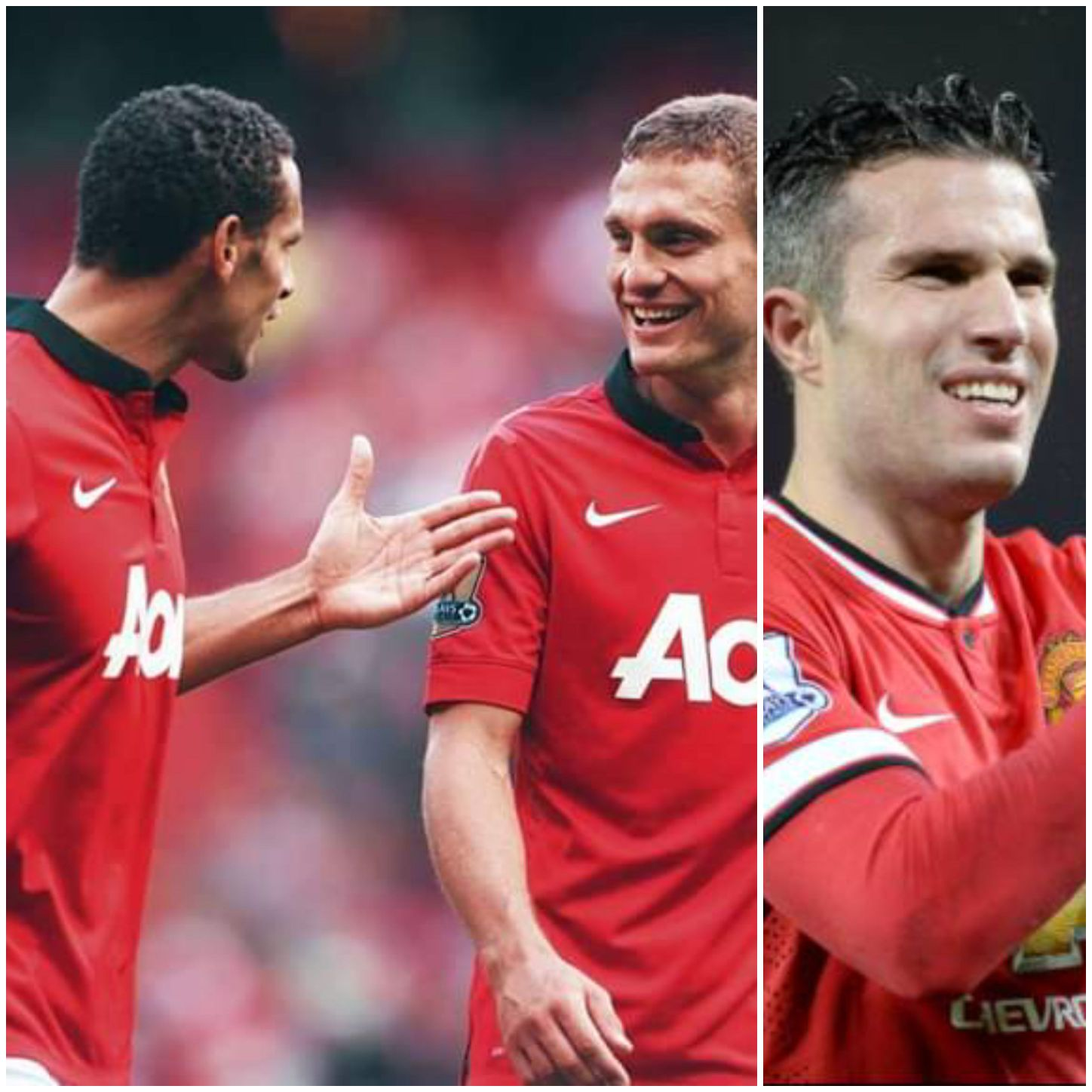 Van Persie Names Vidic and Ferdinand  As The Best Players He Played Against