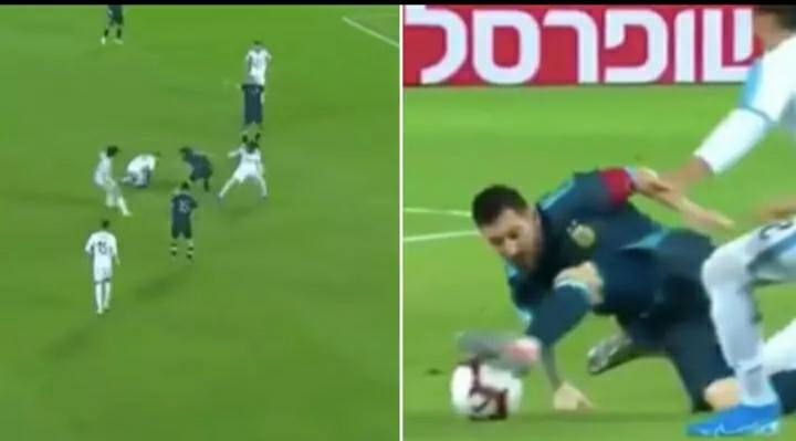 The Incredible Moment Lionel Messi Ruined seven Uruguay Players