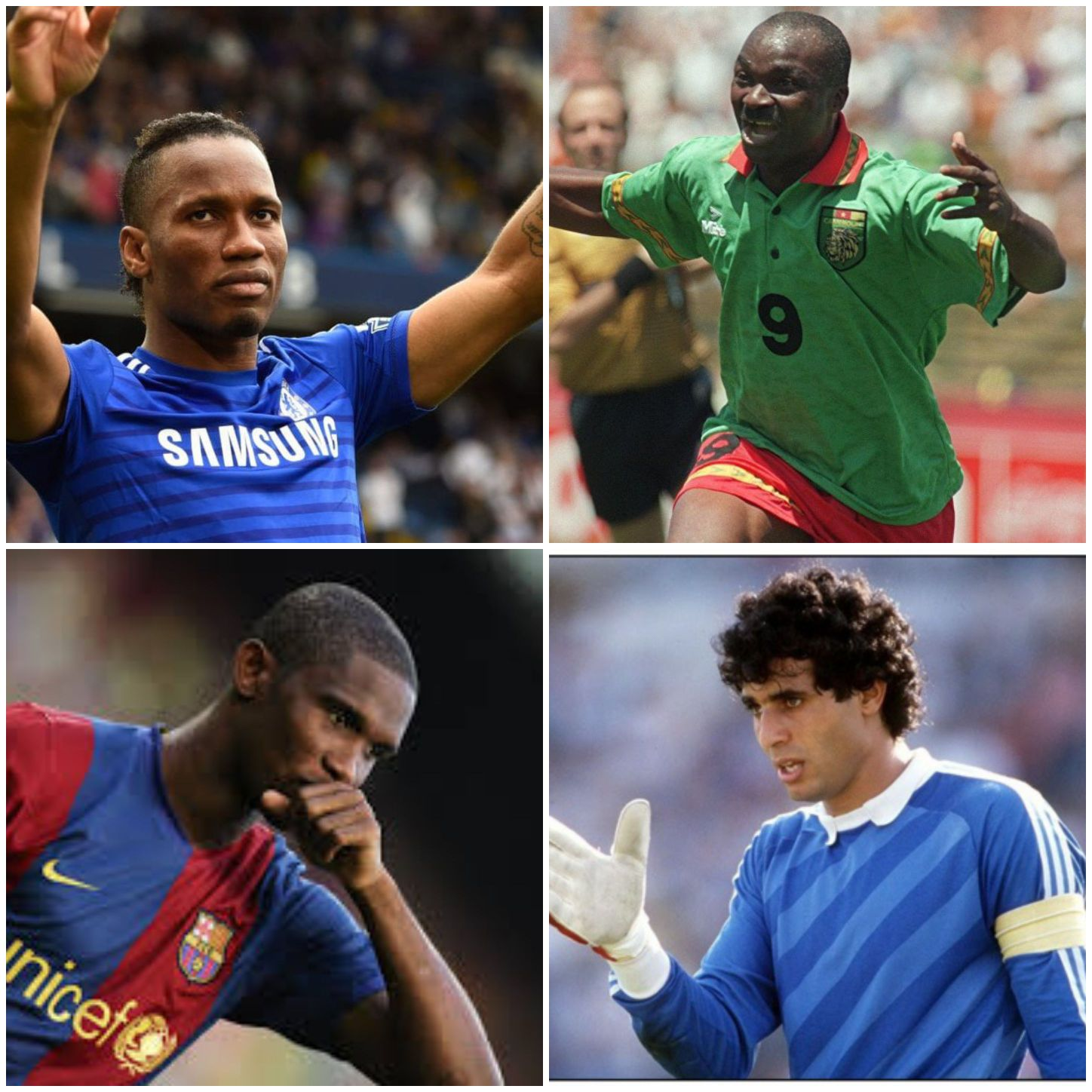 Top 10 Best African players in football history