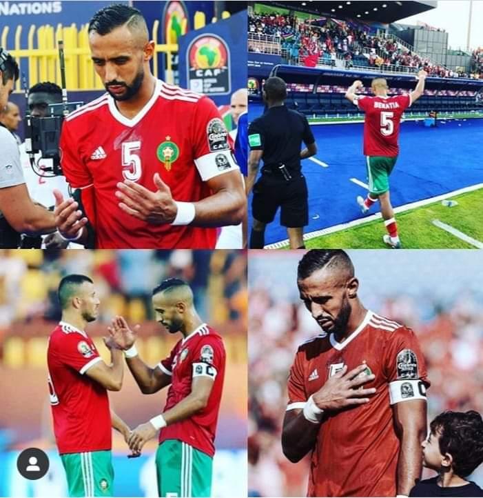 بنعطية يودع اللعب رفقة المنتخب المغربي بعد عشر سنوات