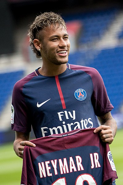 Neymar back to the team Psg