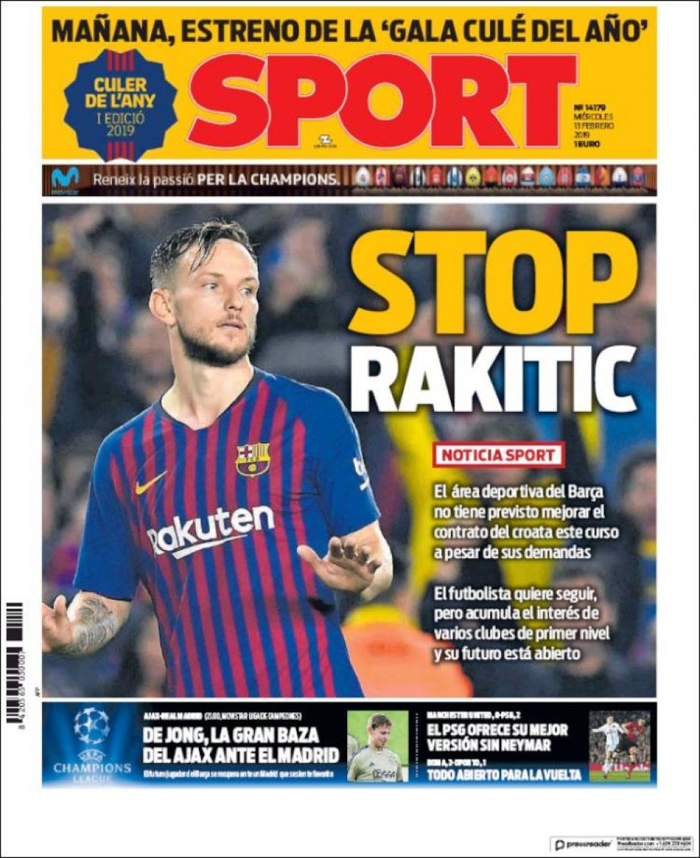 Barca - Future Rakitic becomes clearer