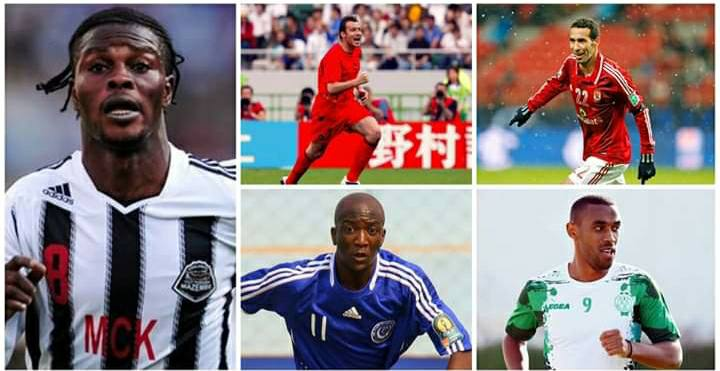 CAF CLUB COMPETITION ALL TIME TOP SCORERS
