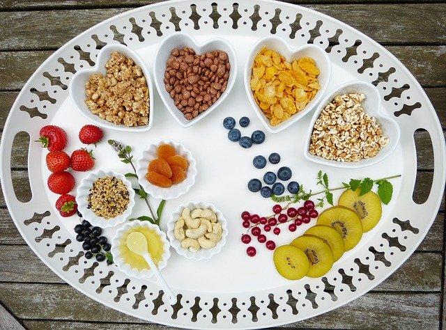 قائمة الطعام لنقص الوزن