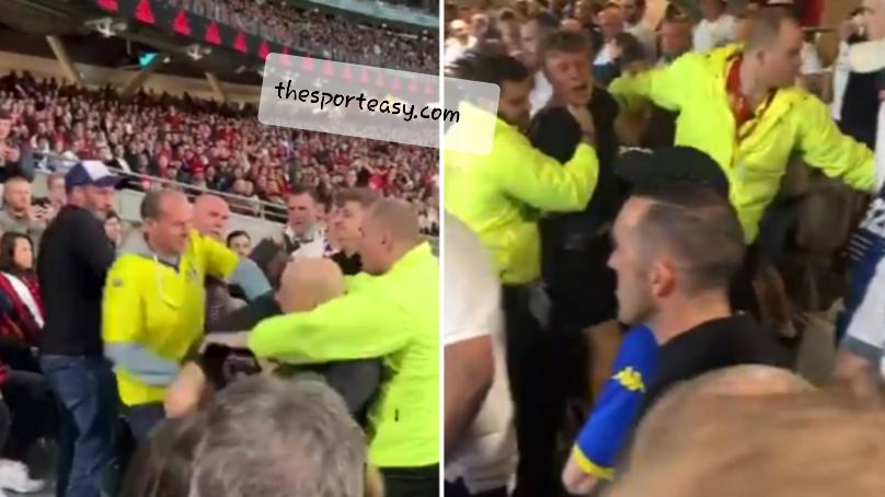 Red devils And Leeds Fans Clash As Violence Mars Pre-Season Friendly