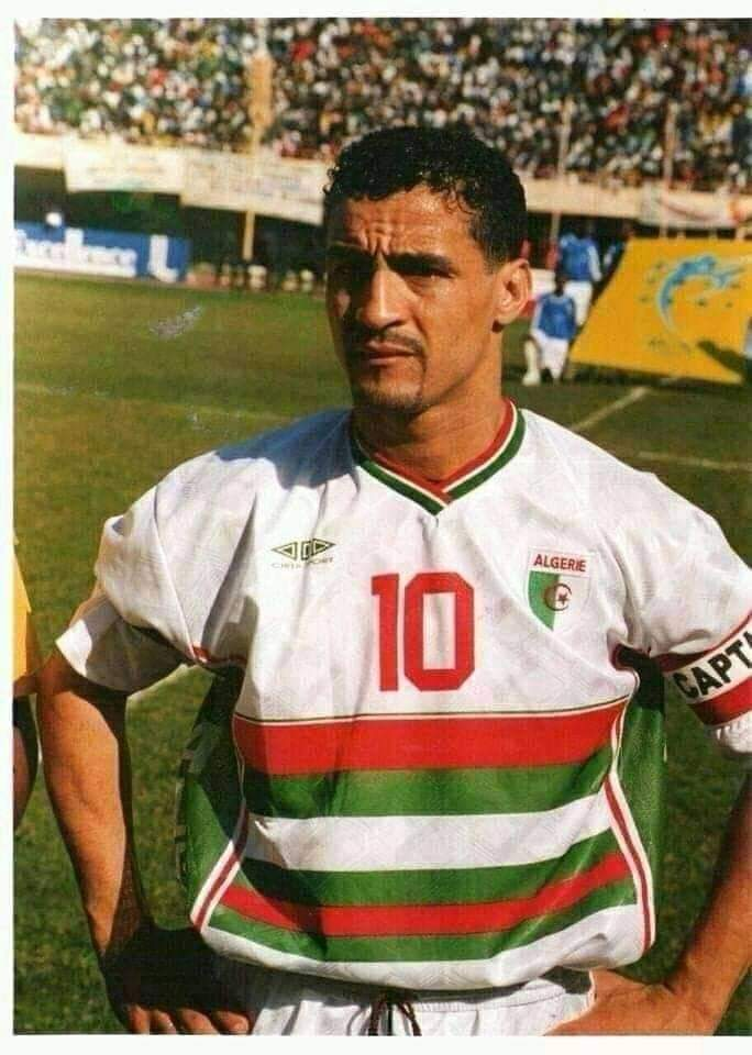 هدافي المنتخب الجزائري لكرة القدم