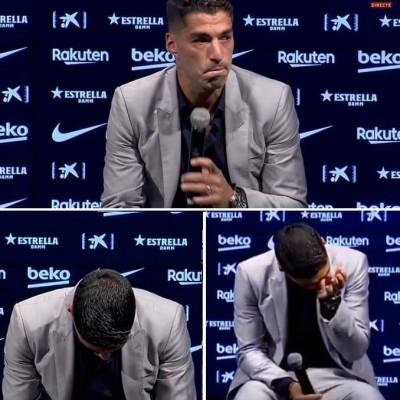 Video in twitter Of Luis Suarez's Best Barcelona Moments