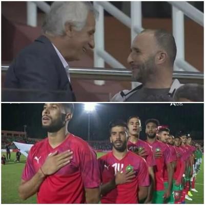 اللاعب المحلي يرد بقوة على حليلوزيتش في مباراة الجزائر
