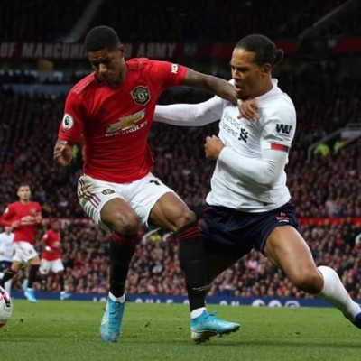 Rashford bullied Van Dijk today at every opportunity