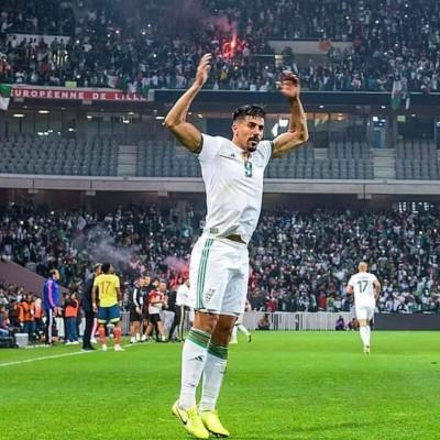 قائمة المنتخب الوطني الجزائري المستدعاة  لتربص أكتوبر
