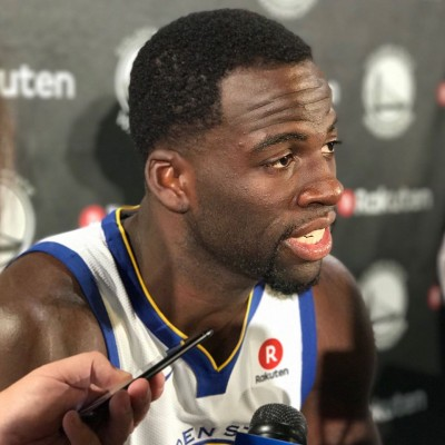 in 2015 draymond green  being the best defender in NBA