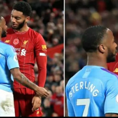 What Raheem Sterling Said To Joe Gomez During Bust-Up