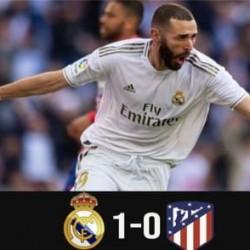 ريال مدريد يهزم أتليتيكو مدريد في الديربي و يعزز الصدارة