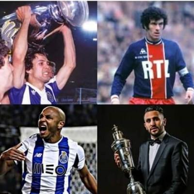 بعض انجازات اللاعبين الجزائريين