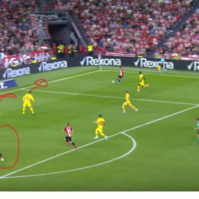 About Aduriz's goal barcelone atheltico bilbao