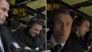 Gary Neville And Jamie Carragher's Reactions To rashford And lalana Goals